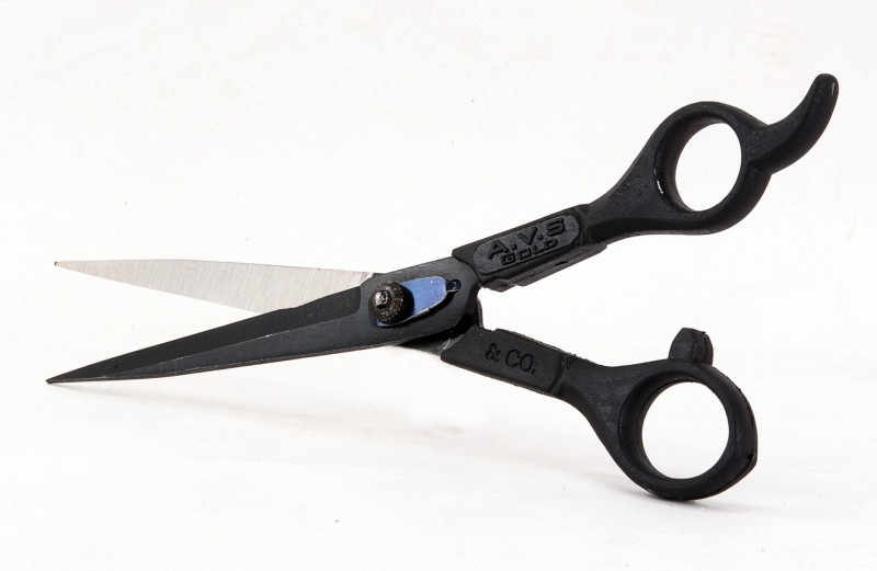 Shalimar HC Right Handed Hairdressing Scissors(Set of 1, Black)