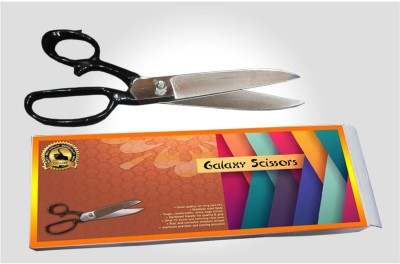 Deluxe Galaxy Right Handed Cloth Scissors(Set of 1, Black)