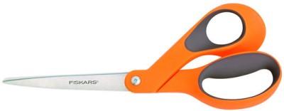Fiskars Contoured Soft Grip Right Handed Universal Scissors