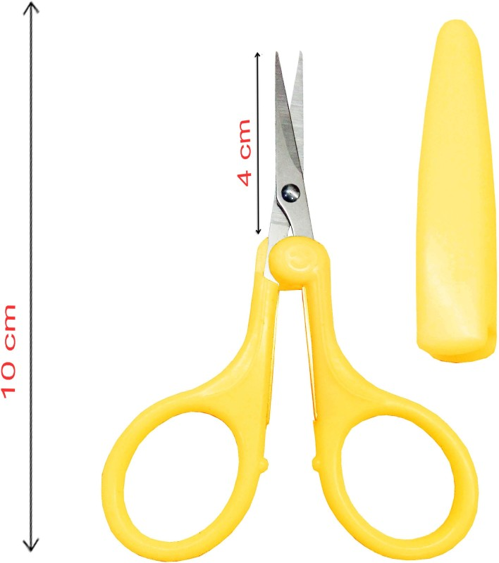 Styler Beauty Both Handed Right/Left Nail Scissors(Set of 1, Yellow)