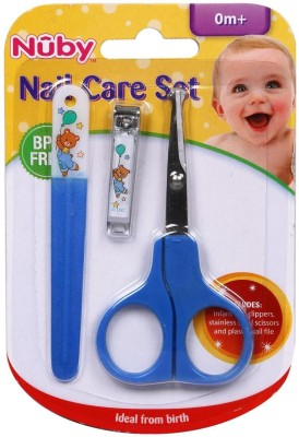 Nuby Scissors Right handed Nail Care Set Scissors