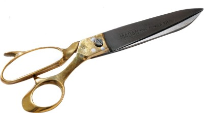 Madan Brass Handle Right Handed Hairdressing Scissors(Set of 1, Golden)