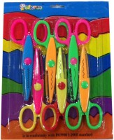AOC Activity Right Handed Paper Scissors(Set of 6, Multicolor)