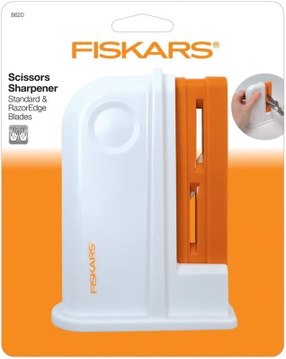 FISKARS UNIVERSAL SCISSORS SHARPNER Right & Left Handed UNIVERSAL SCISSORS SHARPNER Scissors