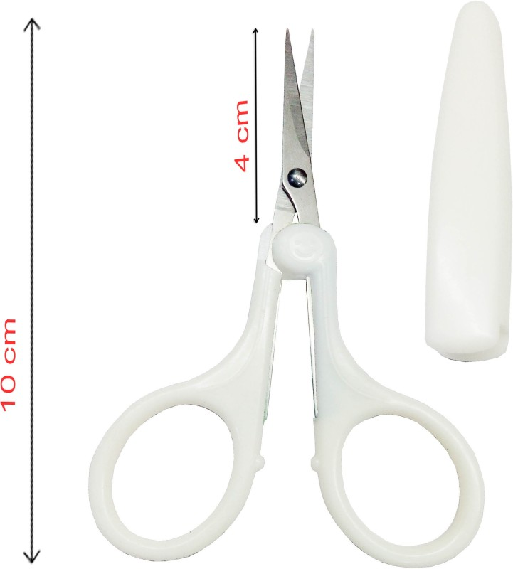 Styler Beauty Both Handed Right/Left Nail Scissors(Set of 1, White)