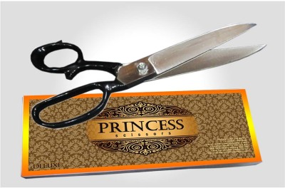 Deluxe Princess Right Handed Cloth Scissors(Set of 1, White)