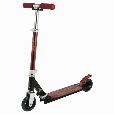 oxelo Play 4 Red Manual Scooter