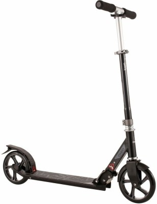 oxelo Scooter Town3 Black Manual Scooter