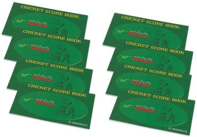 Vinex Cricket Scorebook