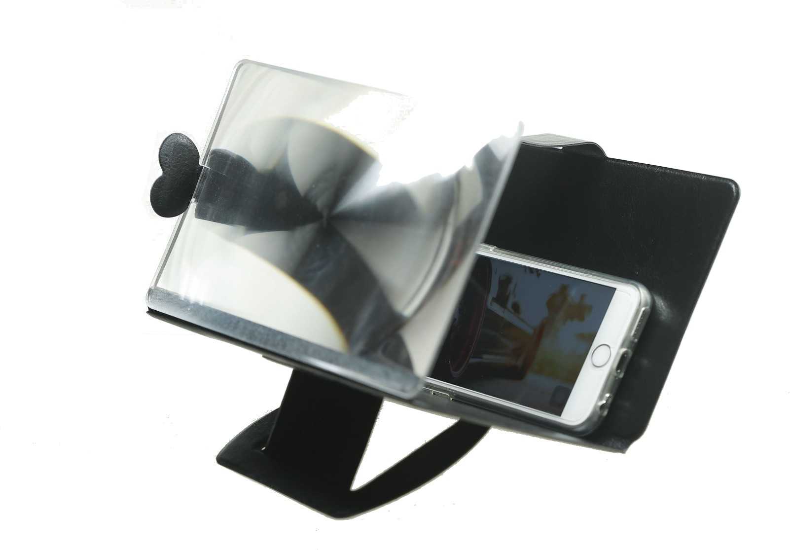 MaxQ MAXQ-001-BLACK Screen Expander Phone