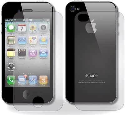 PraIQ MOS2 Front & Back Protector for Apple iPhone 4, Apple iPhone 4S