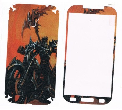 GG ENTERPRISES GALAXY S4 GHOST RIDER DESIGN Front & Back Protector for Smsung Galaxy S4