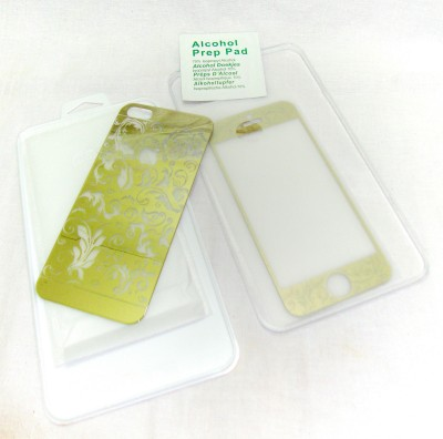 Metro Enterprise 0018 Front & Back Protector for Apple Iphone 5, Apple Iphone 5s