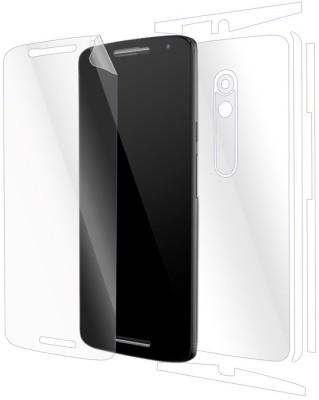 Gadgetshieldz Front & Back Protector for Motorola Moto X Play
