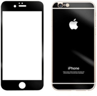 PKT AntiGlareGlass Front & Back Protector for Apple Iphone 6
