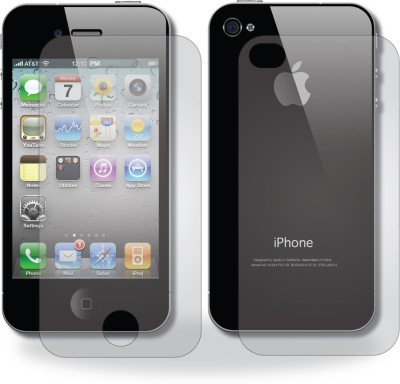 Peeaar Front & Back Protector for Apple iPhone4