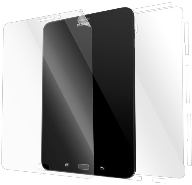 Gadgetshieldz Front & Back Protector for Samsung Galaxy Tab S2 8.0
