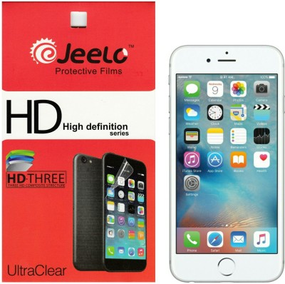Jeelo sg-iph6 HD Clear (Pack of 2) Front & Back Protector for Apple iPhone 6, Apple iPhone 6S