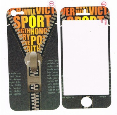 GG ENTERPRISES Iphone 5 Sports Design Front & Back Protector for Apple iPhone 5, 5S
