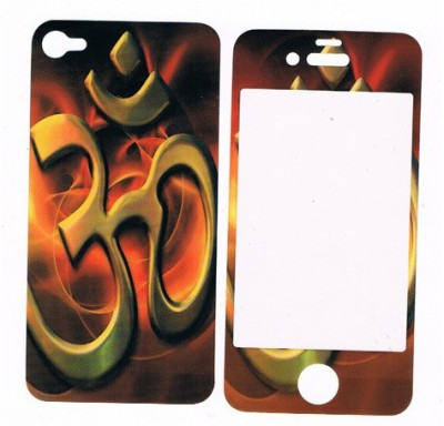 GG ENTERPRISES Iphone 4 Om Design Front & Back Protector for Apple iphone 4/4s