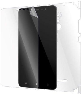 Gadgetshieldz Front & Back Protector for Xiaomi Redmi Note 3