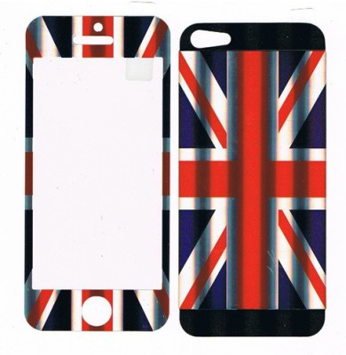 GG ENTERPRISES Iphone 5 Flag Design Front & Back Protector for Apple iPhone 5/Apple iPhone 5s