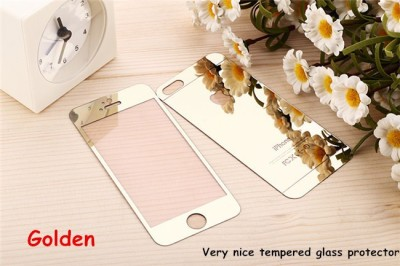 Benzo iphone5 golden Front & Back Protector for Apple iPhone 5, Apple iPhone 5s