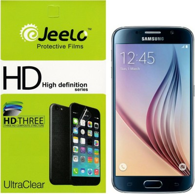 Jeelo sg_fb HD Clear Front & Back Protector for Samsung Galaxy S6