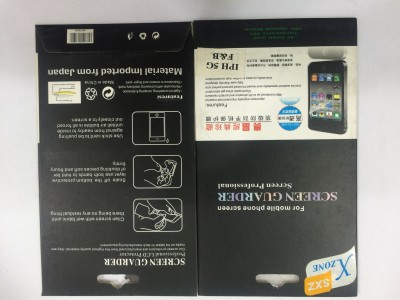 Sikander sc-345 Front & Back Protector for Apple iPhone 4/4s