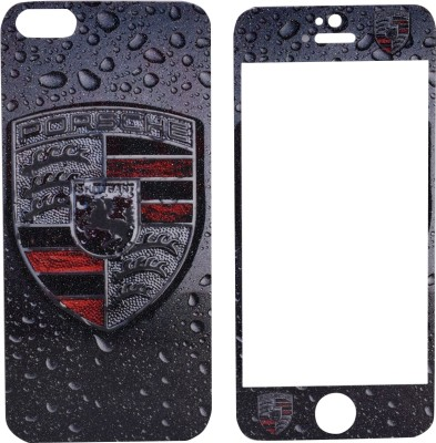 JustX OX-020 Printed Tempered Glass for Iphone 5
