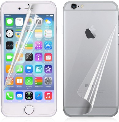 UVON Screen Guard for Apple iphone 6s Front & Back Screen Guard