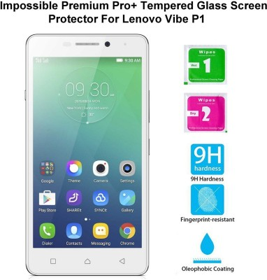Casreen 100113 Impossible Premium Pro+ Tempered Glass Impossible Glass for Lenovo Vibe P1
