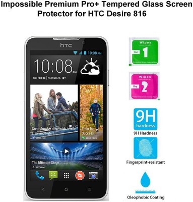 Casreen 100102 Impossible Premium Pro+ Tempered Glass Impossible Glass for HTC Desire 816
