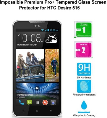 Casreen 100096 Impossible Premium Pro+ Tempered Glass Impossible Glass for HTC Desire 516