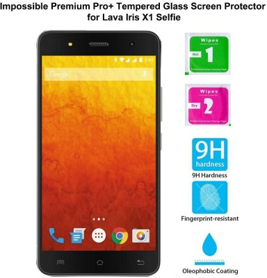 Casreen 100035 Impossible Premium Pro+ Tempered Glass Impossible Glass for Lava Iris X1 Selfie