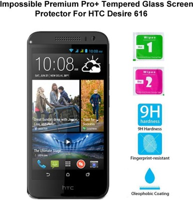 Casreen 100099 Impossible Premium Pro+ Tempered Glass Impossible Glass for HTC Desire 616