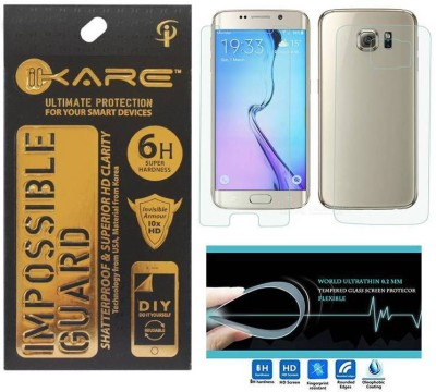 Ikare Impossible Guard For Samsung S6 EDGE + Front & Back Impossible Glass for Samsung S6 EDGE + F-B