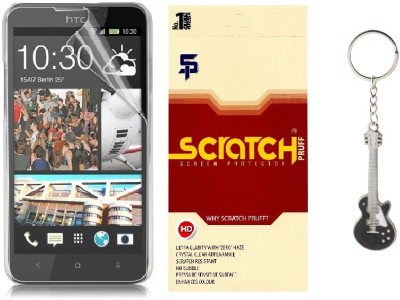 Scratch Pruff Matte Screen Guard for HTC Desire vc