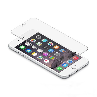 BharatQ A1586/MKQT2HN/A Mirror Screen Guard for iPhone 6 & 6s (Combo of 2 Tempered Glass)