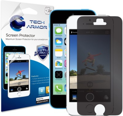 Tech Armor SP-4PR-APL-IP5-1 Privacy Screen Guard for Apple iPhone 5, iPhone 5c, iPhone 5s