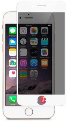 Saturn Retail White Tempered Privacy Screen Guard for Apple I phone 6, Apple I phone 6s