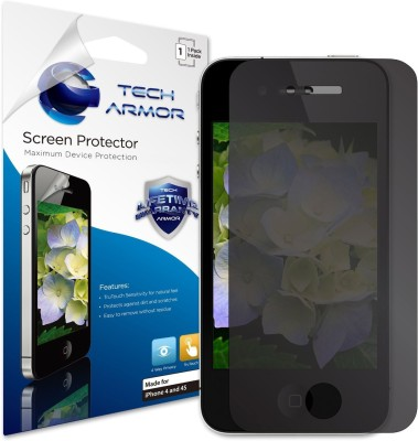 Tech Armor SP-4PR-APL-IP4S-1 Privacy Screen Guard for Apple iPhone 4, iPhone 4S