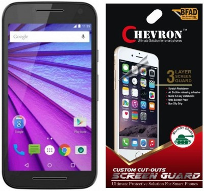 Chevron Screen Guard for Motorola Moto G (3rd Gen)