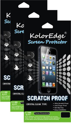 Kolor Edge 4238-Clrintex3gstrong3pck Screen Guard for Intex Aqua 3G Strong