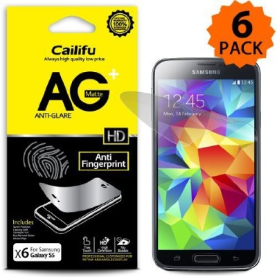 Cailifu 3343851 Screen Guard for Samsung Galaxy s5