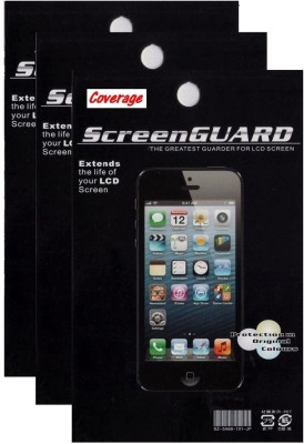 Coverage Pack of 3 Screen Guards for MICROMAX CANVAS SPARK Q380 Screen Guard for MICROMAX CANVAS SPARK Q380
