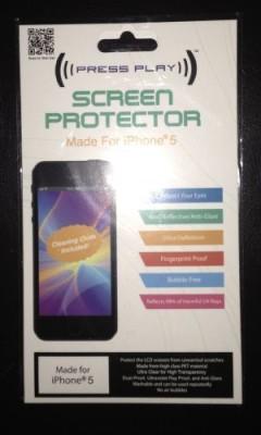 Gadget People Inc. Screen Guard for I phone 5