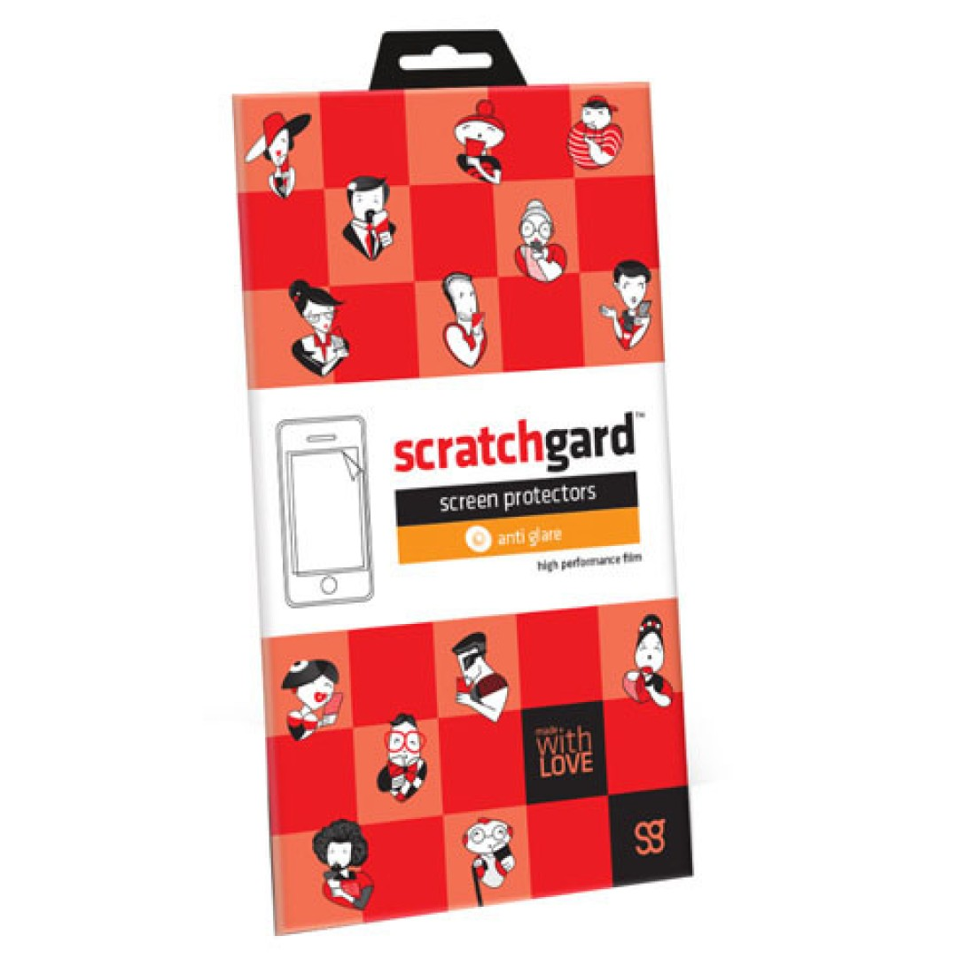 Scratchgard Original Anti Glare - (PACE) Screen Guard for Micromax Canvas Pace 4G Q416