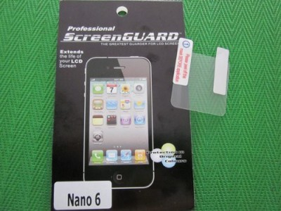 Professional ScreenGuard Anti Glare Nano 6G Screen Guard for Apple nano 6G