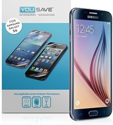 Yousave Accessories Screen Guard for Samsung galaxy s6